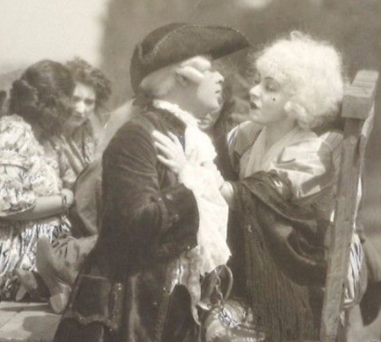 "1918 - Alla Nazimova in ""A Woman of France"""