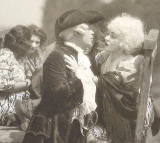 """1918 - Alla Nazimova in """"A Woman of France"""""""