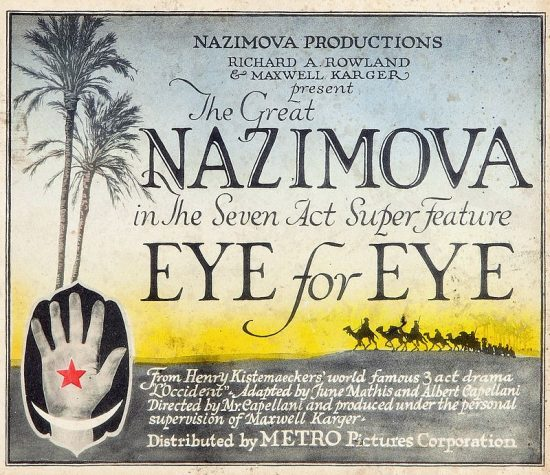 "1918 - Lobby card for ""Eye for Eye"""