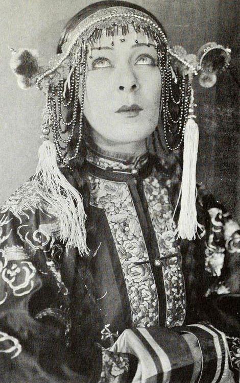 """1919: Alla Nazimova in """"The Red Lantern"""""""