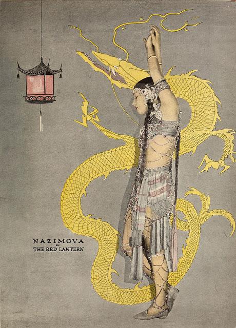 "1919 - Poster for Alla Nazimova in ""The Red Lantern"""