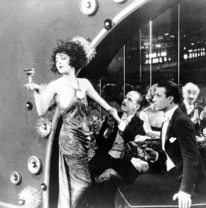"""1921: Alla Nazimova and Rudolph Valentino in """"Camille"""""""