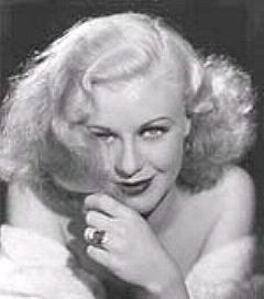 Ginger Rogers – frequent visitor to the Garden of Allah Hotel