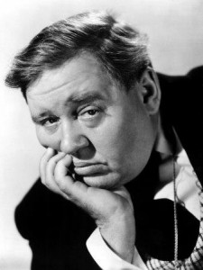 Charles Laughton - resident of the Garden of Allah Hotel