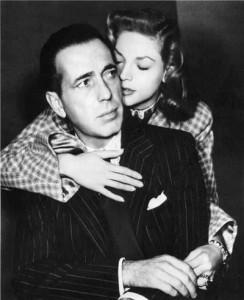 Humphrey Bogart and Lauren Bacall - residents of the Garden of Allah Hotel