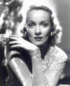 Marlene Dietrich - (possible) resident of the Garden of Allah Hotel