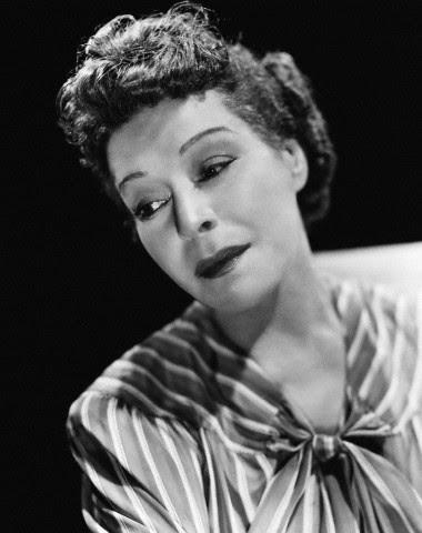 Circa 1935: Actress Alla Nazimova