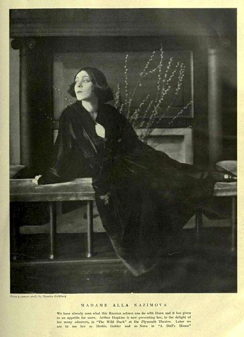 Alla Nazimova - Goldberg Theatre - Maurice Goldberg, c. April 1918