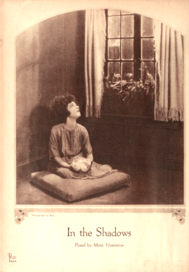 "Alla Nazimova ""In The Shadows"" - Motion Picture magazine, October 1921"