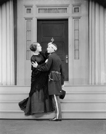 "Circa 1931: Alla Nazimova in Eugene O'Neill's ""Mourning Becomes Electra."""