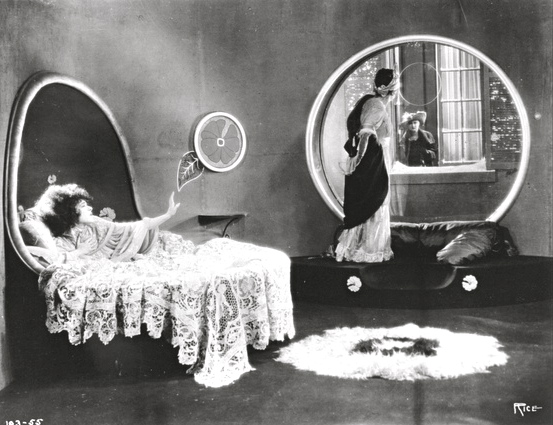 "1921: Alla Nazimova and Rudolph Valentino in ""Camille"""