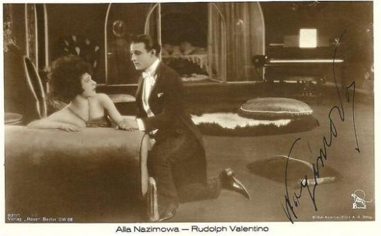 Alla Nazimova and Max Cherryman in Camille (1921)