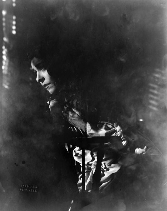 "1931: Alla Nazimova as Christine in ""Mourning Becomes Electra"""