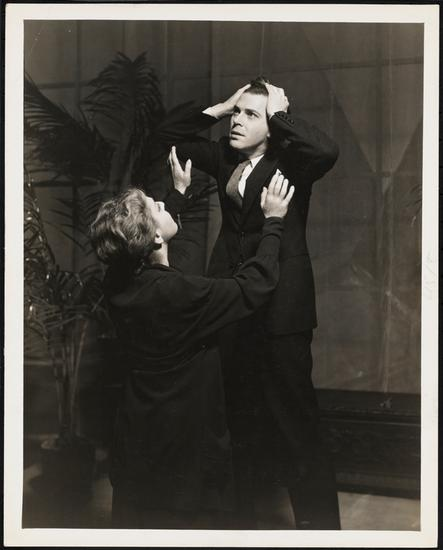 """1935: Alla Nazimova as Helen Alving in the 1935 Broadway revival of """"Ghosts."""""""