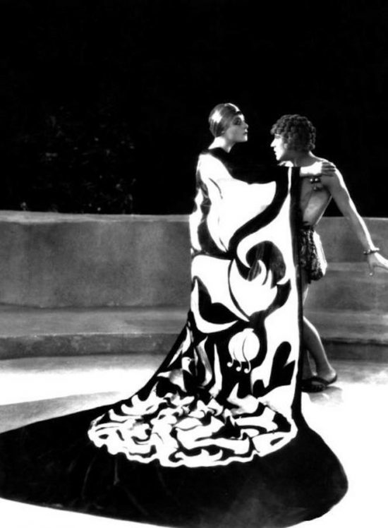 1923: Alla Nazimova as Salome in cape (1923)
