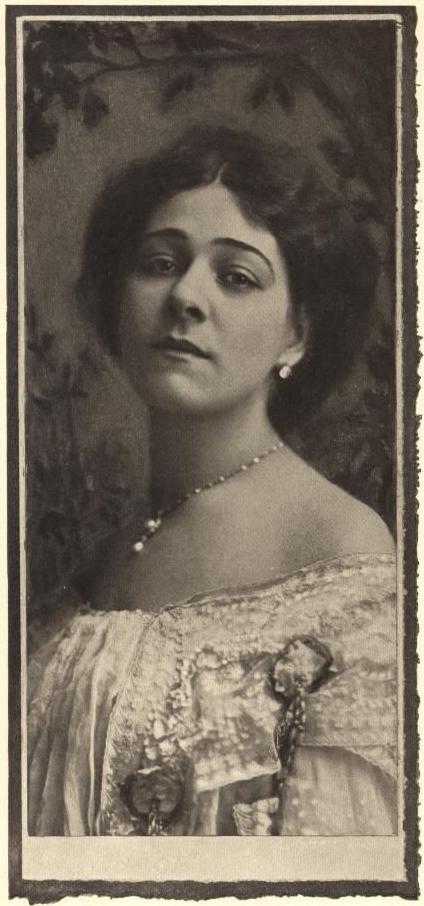 1907: Alla Nazimova by Burr McIntosh