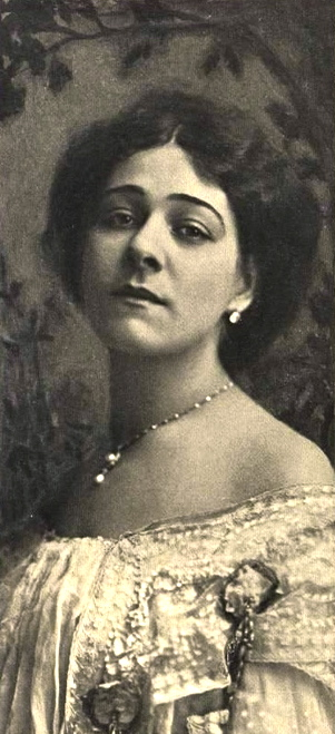 Alla Nazimova portrait by Burr McIntosh, 1907