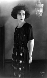 "1921: Alla Nazimova, around the time she was producing and starring in ""Camille."""