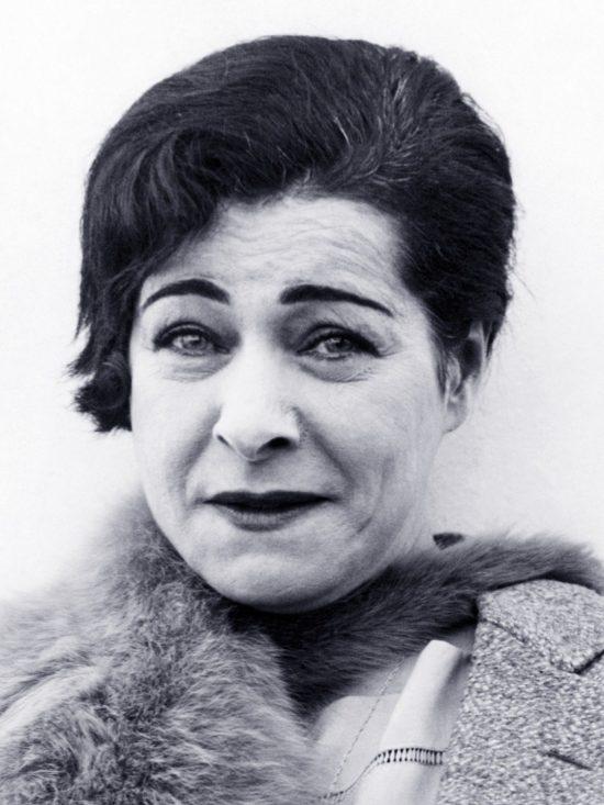 Alla Nazimova, circa 1940s