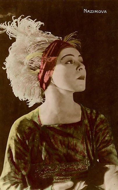Alla Nazimova colored photo