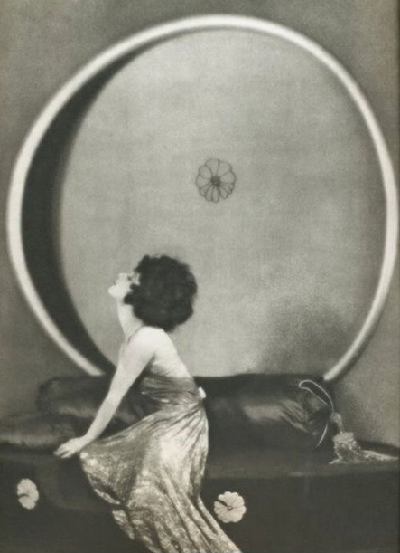 "Alla Nazimova in ""Camille"" (1921) Photograph by Arthur Rice"