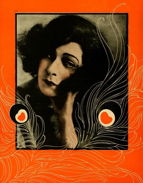 "November 1920: Alla Nazimova in ""Cine-Mundial"""