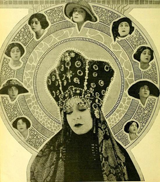 Alla Nazimova in Cine-Mundial magazine