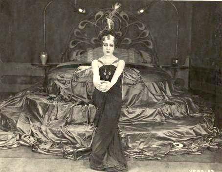 """Alla Nazimova in """"Madame Peacock"""" (1920)"""
