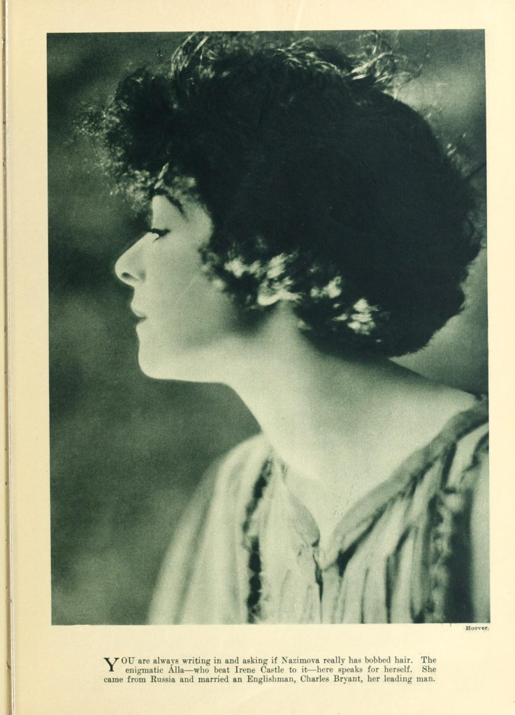 Alla Nazimova in Photoplay Magazine, November 1920