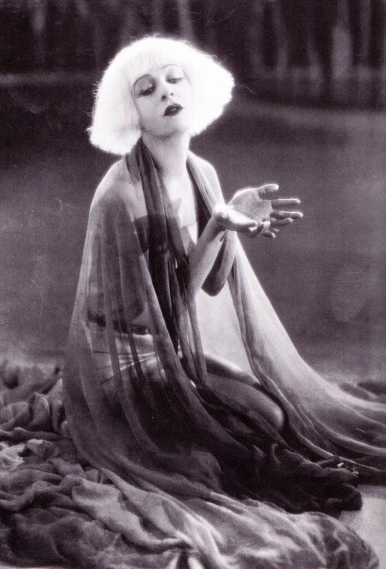 """Alla Nazimova in """"Salome"""" (1923)"""