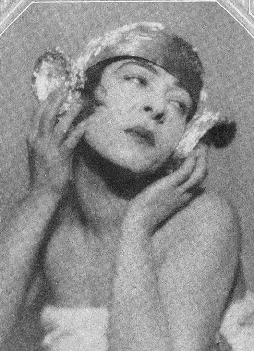 Alla Nazimova in Theatre, August 1926 by Maurice Goldberg