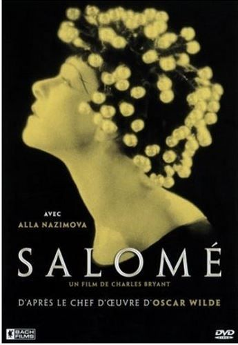 "Alla Nazimova in a posrer for ""Salome"" (1923)"
