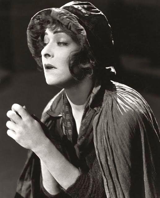 Alla Nazimova in character