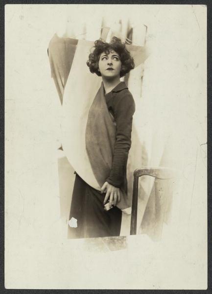 Alla Nazimova undated portrait