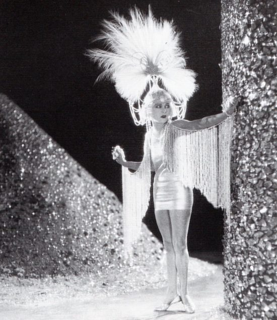 "Alla Nazimova wearing the sheath that Natacha Rambova designed for her in ""Salome"" (1923)"