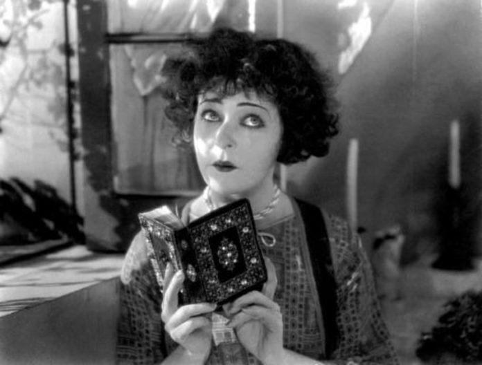 Alla with Nazimova book