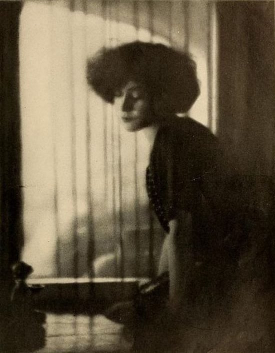December 1922: Alla Nazimova in Shadowland magazine photographed by Arthur F. Rice
