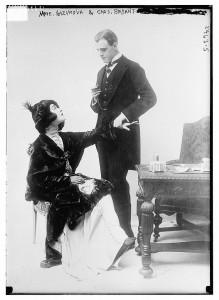 Alla Nazimova with her husband Charles Bryant.