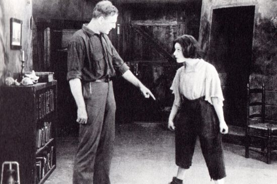 "Charles Bryant and Alla Nazimova in ""The Brat"" (1919)"