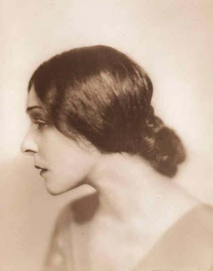 Photograph of Alla Nazimova, by Goldberg