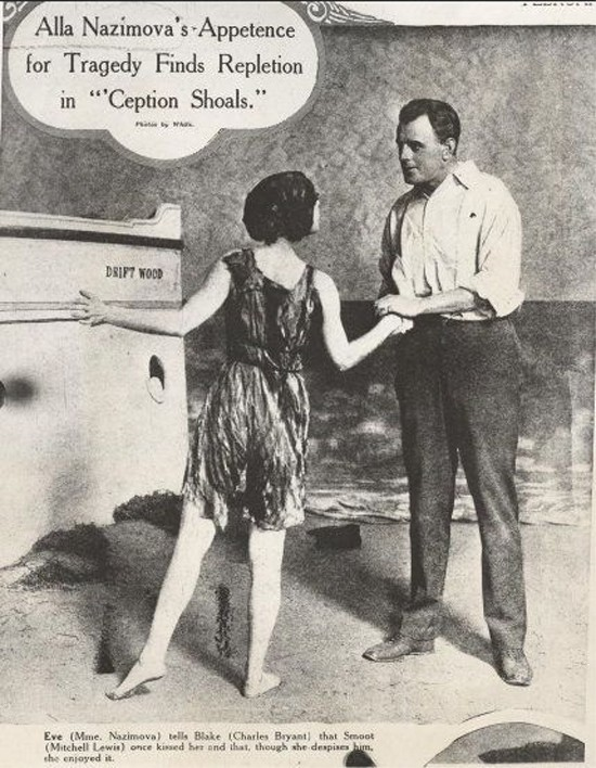 "January 10, 1917: Alla Nazimova Opens in ""Ception Shoals' on Broadway"