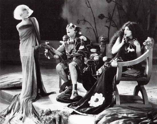 "Nazimova, Mitchell Lewis and Rose Dione in ""Salome"" (1923)"