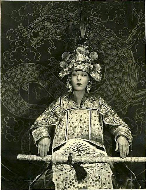 "Nazimova in ""The Red Lantern,"" 1919"