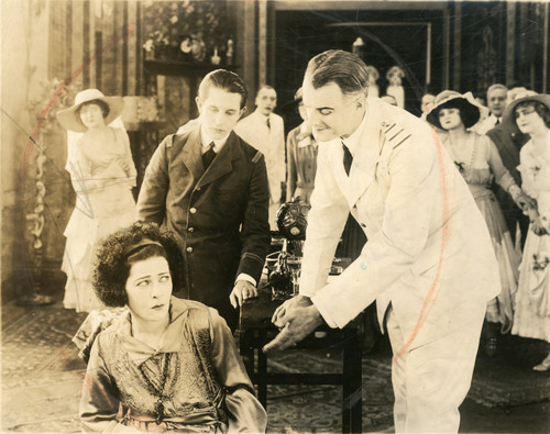 "1918: Alla Nazimova in ""Eye For Eye"""