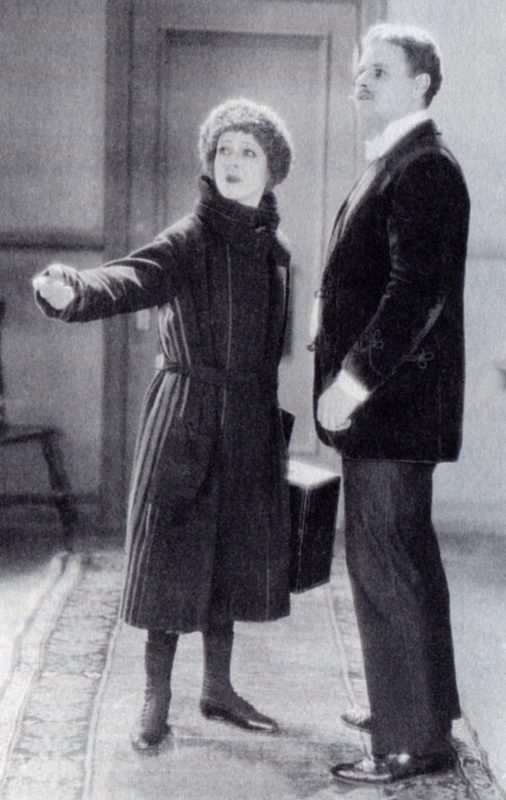 "Nazimova with Alan Hale in ""A Doll's House"" (1922)"