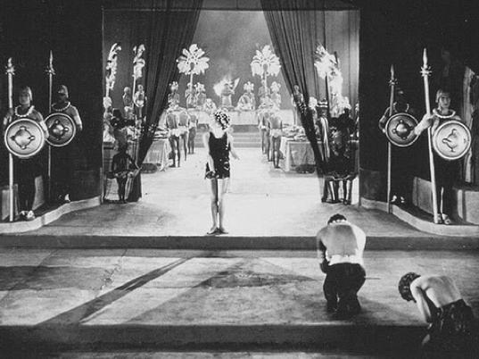 "1923 - Screenshot of Alla Nazimova in ""Salome"""