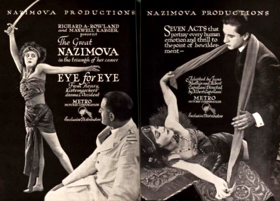 "The Great Nazimova in ""Eye For Eye"" - Motion Picture News magazine, (Nov-Dec 1918)"