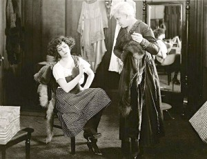 "1919: Alla Nazimova in ""The Brat"""