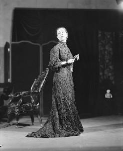 "1928: Alla Nazimova as Madame Ranevsky in ""The Cherry Orchard."""