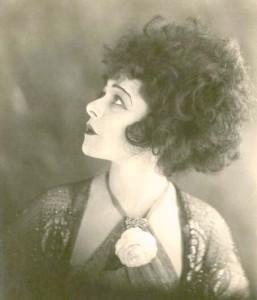 """1921: Alla Nazimova profile in """"Camille"""""""